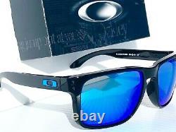 NEW Oakley HOLBROOK XL BLACK PRIZM SAPPHIRE Blue Sunglass 9417-03 59