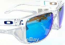 NEW Oakley HOLBROOK XL CLEAR POLARIZED PRIZM SAPPHIRE Blue Sunglass 9417-07
