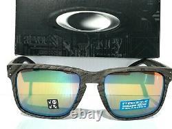 NEW Oakley HOLBROOK XL Woodgrain POLARIZED Shallow Water Prizm Sunglass 9417-18
