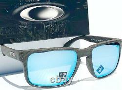 NEW Oakley HOLBROOK XL Woodgrain Polarized Deep Water PRIZM H2O Sunglass 941719