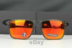 NEW Oakley Holbrook Men's Sunglasses Matte Olive Ink Prizm Ruby OO9102-E7