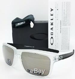 NEW Oakley Holbrook Mix sunglasses Matte Clear Prizm Black 9384-0557 AUTHENTIC