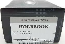 NEW Oakley Holbrook sunglasses Blue Black Iridium Infinite Hero Edition 9102-D4