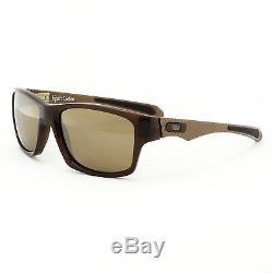 NEW Oakley Jupiter Carbon Sunglasses Brown Dark Ale Tungsten Mirrored Lenses