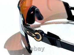 NEW Oakley KATO 24K Olympic Polished Black Prizm Gold Sunglasses w Case 9455-02