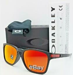 NEW Oakley Latch SQ sunglasses Black Prizm Ruby Asian 9358-11 AUTHENTIC 9358 NIB