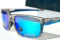 NEW Oakley MAINLINK XL Grey ink Clear PRIZM Sapphire Blue Sunglass 9264-42