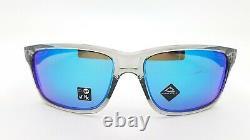 NEW Oakley Mainlink XL sunglasses Grey Prizm Sapphire Iridium 9264-42 AUTHENTIC
