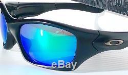 NEW Oakley PIT BULL Matte Black POLARIZED Galaxy JADE Green lens Sunglass 9161