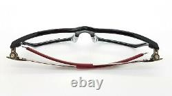 NEW Oakley Pitchman RX Prescription Frame Black Red OX8050-0553 AUTHENTIC 8050