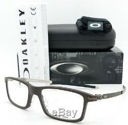 NEW Oakley Pitchman RX Prescription Frame Brownstone OX8050-0453 AUTHENTIC Brown