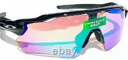 NEW Oakley RADAR EV PATH Black polished PRIZM GOLF Iridium Sunglass 9208-44