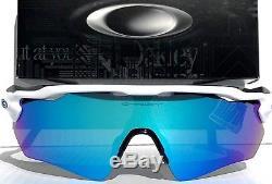 NEW Oakley RADAR EV PATH WHITE Blue Sapphire Blue mirror lens Sunglass 9208-17