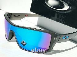 NEW Oakley RIDGELINE Grey Smoke POLARIZED Sapphire Blue Sunglass 9419-07