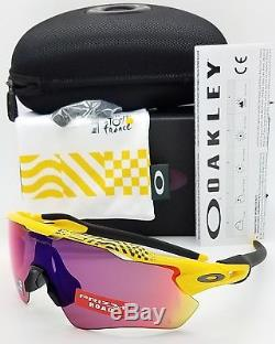 NEW Oakley Radar EV Path sunglasses Yellow Tour de France Prizm Road 9208-6938