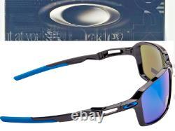 NEW Oakley SIPHON Black polished w PRIZM Sapphire Blue lens Sunglass 9429-02