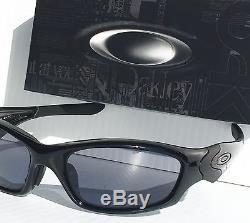 NEW Oakley STRAIGHT JACKET POLARIZED BLACK Iridium Lens Sunglass 9038-0359
