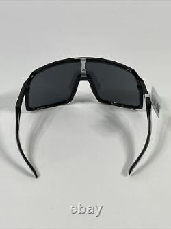 NEW Oakley SUTRO Sunglasses OO9406-0137 Polished Black Prizm Black Iridium USA