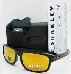 NEW Oakley Sliver Stealth sunglasses Black 24K Iridium 9409-02 GENUINE 9409 NIB