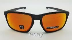NEW Oakley Sliver sunglasses Black Prizm Ruby Polarized 9269-1757 Asian fit Red
