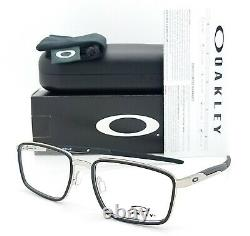 NEW Oakley Spindle RX Prescription Frame Satin Chrome Black OX3235-0152 52mm