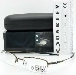 NEW Oakley Spoke 0.5 RX Eyeglass Frame OX3144-0251 51mm Rimless Half Wire