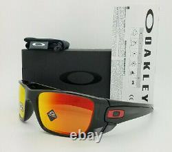 NEW Oakley Sunglasses Fuel Cell Black Prizm Ruby Polarized 9096-K0 AUTHENTIC