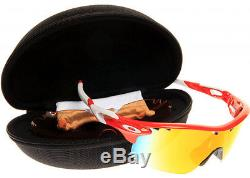 ... Sunglasses RADARLOCK XL Blood Orange / Fire Irid Polarized OO9170-02