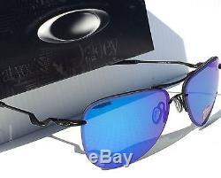 NEW Oakley TAILPIN POLARIZED Sapphire in Matte Black AVIATOR Sunglass 4086-08