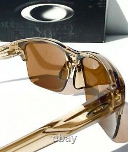 NEW Oakley THINLINK Sepia half rim w Bronze Iridium Lens Lens Sunglass 9316-02