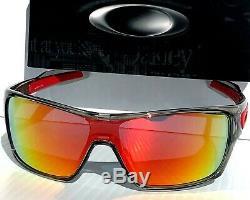 NEW Oakley TURBINE ROTOR Grey Smoke Clear POLARIZED Galaxy Ruby Sunglass 9307