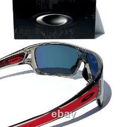 NEW Oakley TURBINE ROTOR Grey Smoke PRIZM Ruby IRIDIUM lens Sunglass 9307-24