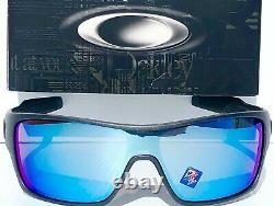 NEW Oakley TURBINE ROTOR Steel POLARIZED Deep Water Prizm H20 Sunglass 9307-09