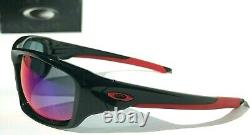 NEW Oakley VALVE Black Ducati Red icon w Red Iridium Lens Sunglass 9236