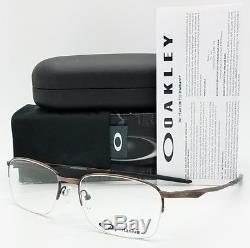 NEW Oakley Wingfold 0.5 RX Prescription Frame Brown OX5101-0455 wing 55mm 5101