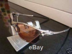 NEW Oakley X-metal Half X Sunglasses, Polished / VR28 Black Iridium, 04-142