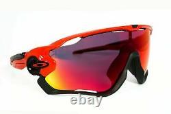 NWT Oakley JAWBREAKER OO9290-2431 Redline Frame With PRIZM ROAD Lens Sunglasses