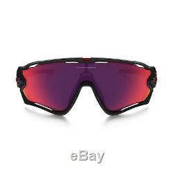 New Authentic Oakley Jawbreaker Sunglasses OO9290-20 Matte Black Prizm Road Lens