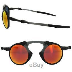 New OAKLEY OO6019-04 MADMAN Polarized Ruby Iridium Carbon Sunglasses Fast Ship
