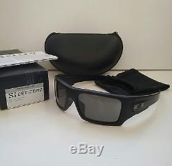 b9e6af15d9 New Oakley Si Ballistic Det Cord Matte Black With Grey Sunglasses Cerakote  Gascan