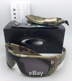 9d3b976ba33 New Oakley Sunglasses Batwolf Oo9101-34 Multi-cam Camo Frame With Warm Grey  Lens