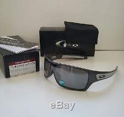 New OAKLEY TURBINE ROTOR Granite with Black POLARIZED Sunglasses batwolf fuel cell