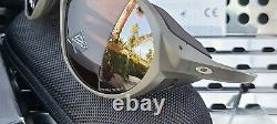 New Oakley CLIFDEN 9440-0456 Sunglasses Matte Olive withPrizm Tungsten Polarized