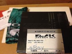 New Oakley Flak Jacket Xlj 30 Years Sport- Fog / +red Iridium Lens, 26-263