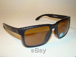 New Oakley Holbrook 9102-98 Matte Blk Bronze POLARIZED Sun Fall Out. Sunglasses