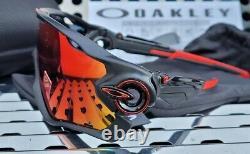 New Oakley JAWBREAKER 9290-2031 Sunglasses Matte Black withPrizm Road lenses