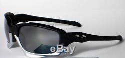 New Oakley Jawbone Sunglasses Matte Black/Black Iridium Authentic Made in USA