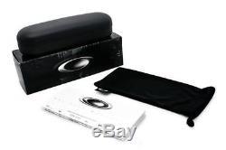 New Oakley OO4087-01 Tailhook Satin Black/Grey Men's Sunglasses 60mm Fast Ship
