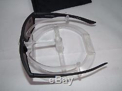New Oakley Polarized Covert Twoface OO9189-26 Covert Matte Black / Prizm Daily