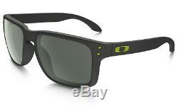 New Oakley Sunglasses Holbrook OO9102-38 Steel Frame / Dark Grey Lenses
